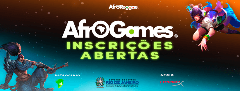 Inscrições para AfroGames