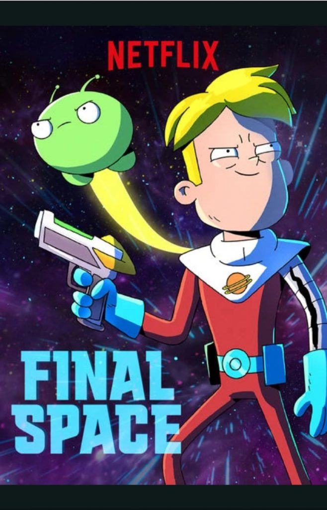 Final Space Cartaz