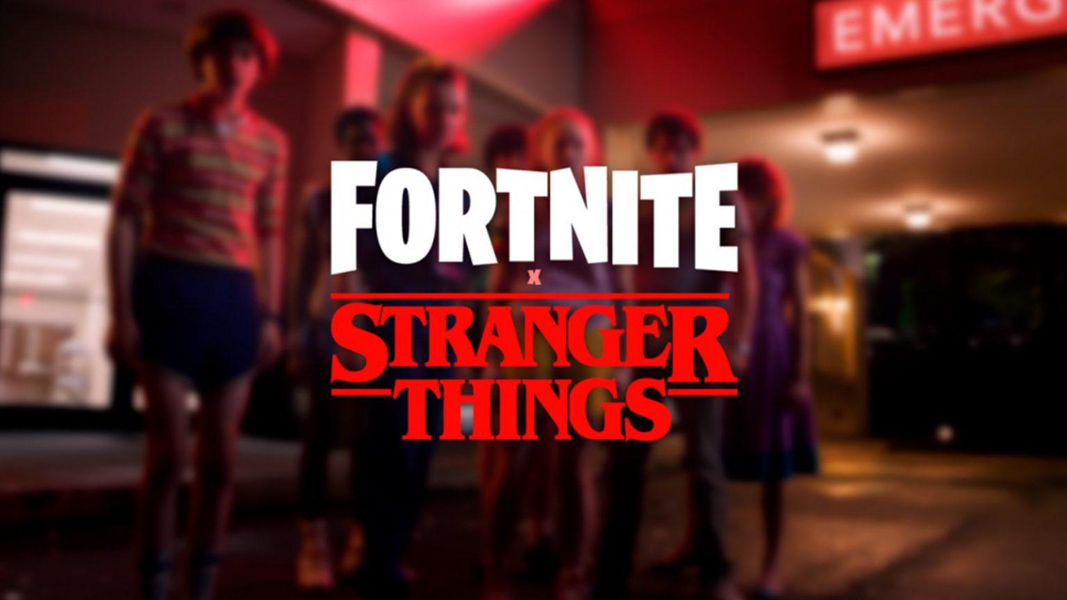 Stranger Things Fortnite