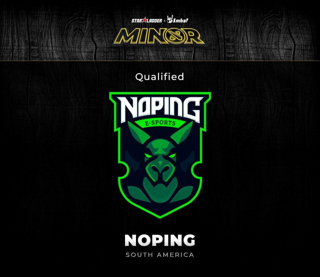 NoPIng se classifica para StarLadder S3 minor