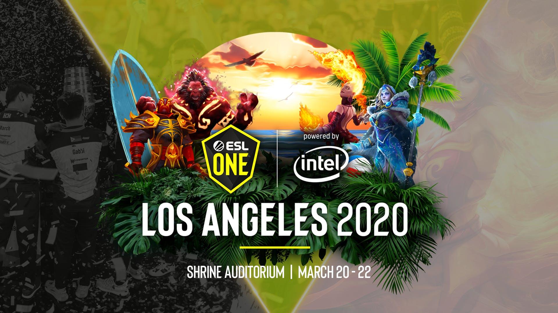 fim das qualificatórias para a ESL One Los Angeles