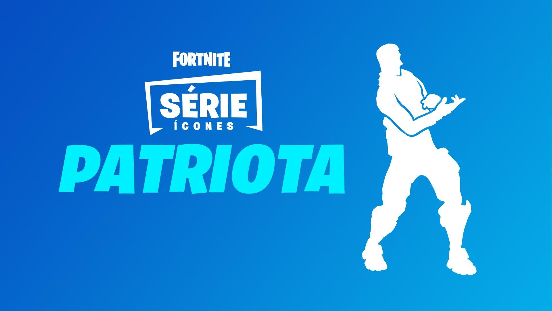 """O streamer """"PATRIOTA"""" é homenageado pelo jogo Fortnite"""