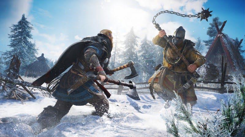 Assassin's Creed Valhalla lançamento trailer