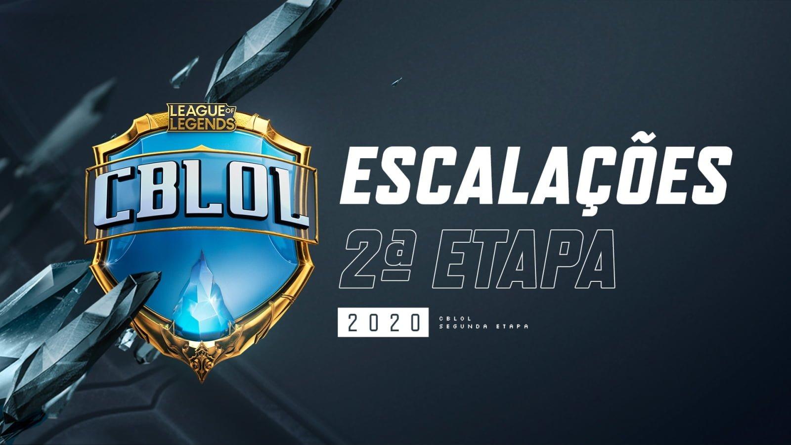 Escalações CbLoL 2020 2º Split