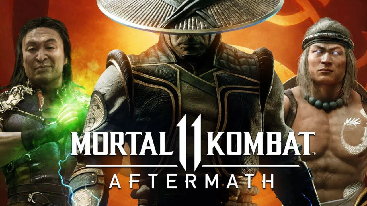 Mortal Kombat 11: Aftermath é anunciado.