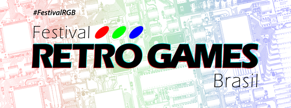 Logo do Festival Retro Games Brasil