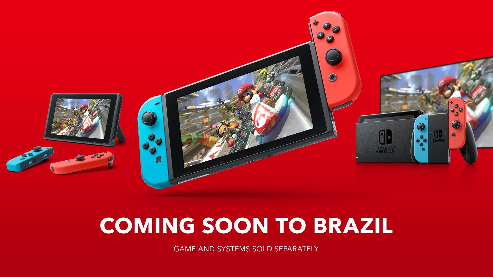 Imagem de anúncio do Console