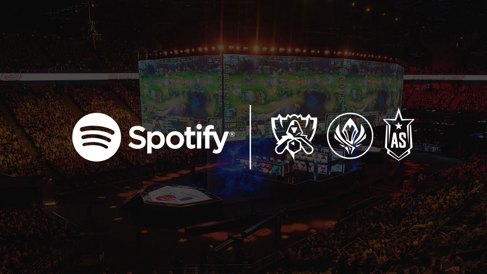 Riot anuncia parceria com Spotify para os eventos Worlds, MSI e All Star.