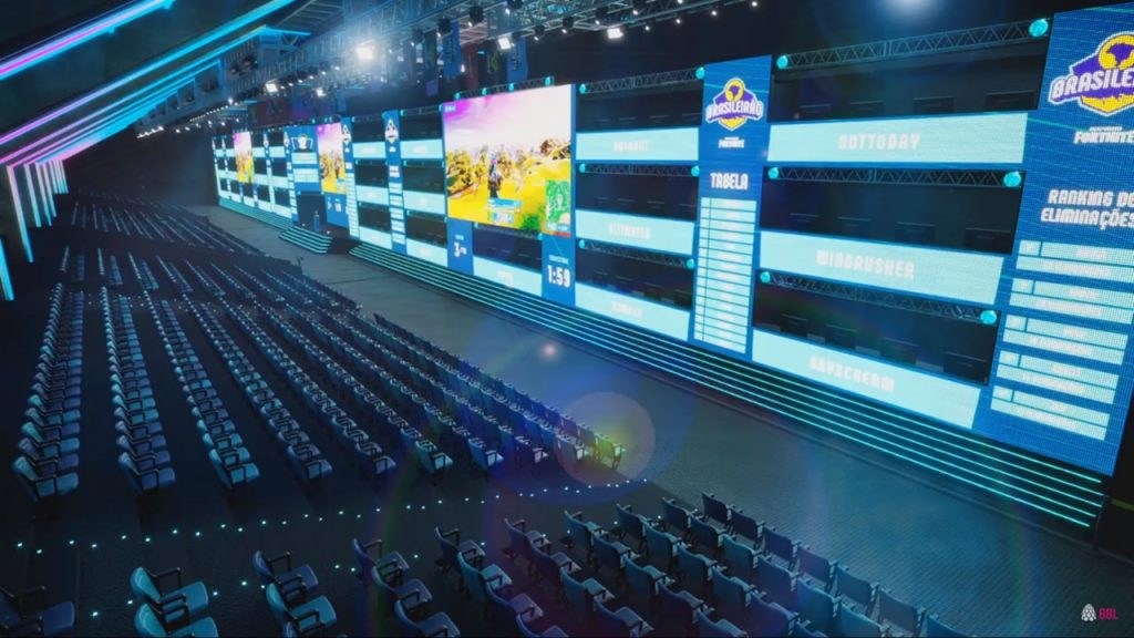 Interior da Arena