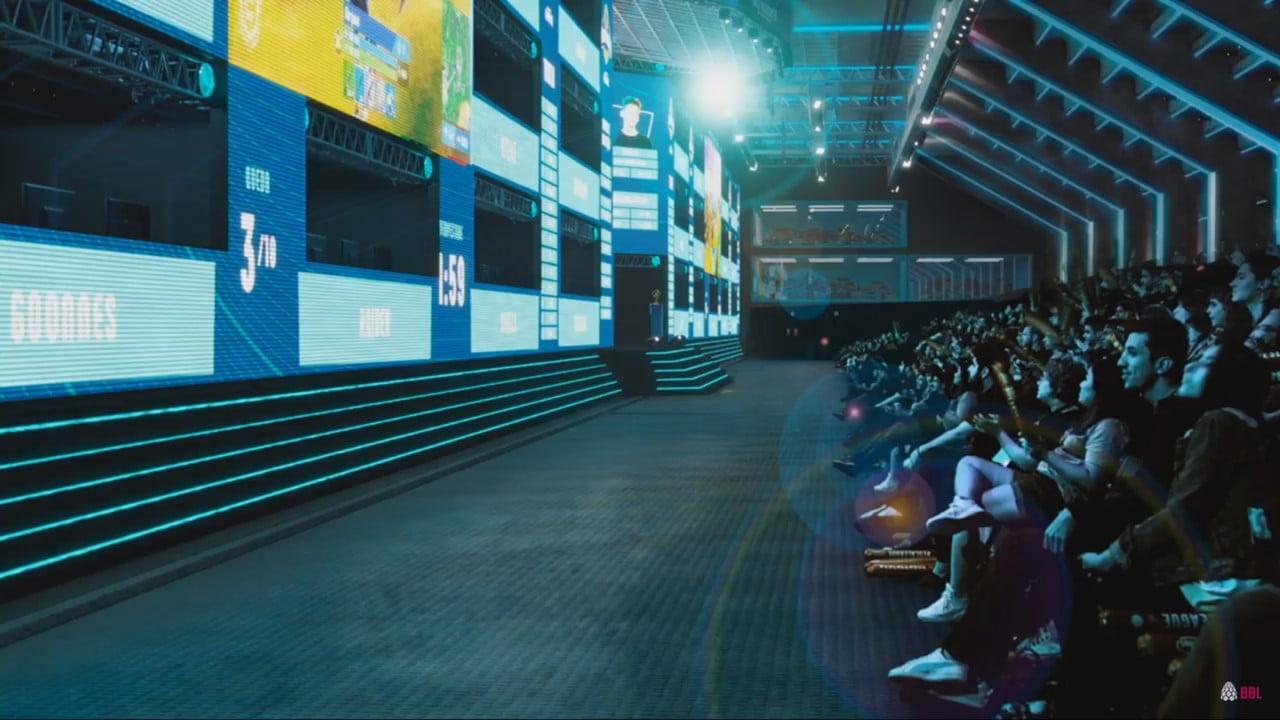 Visão da Arena do Pacaembu