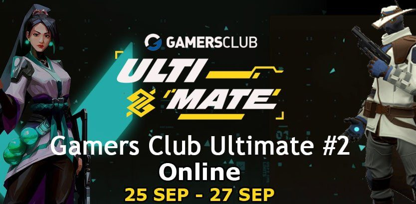 Cartaz do Valorant Gamers Club Ultimate 2