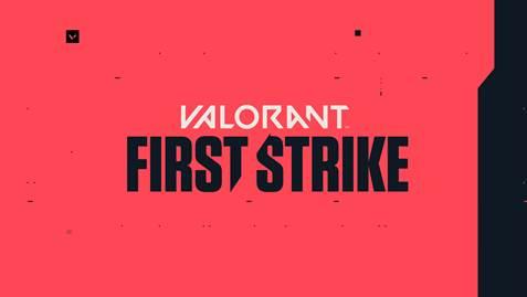 Logo do torneio First Strike de Valorant