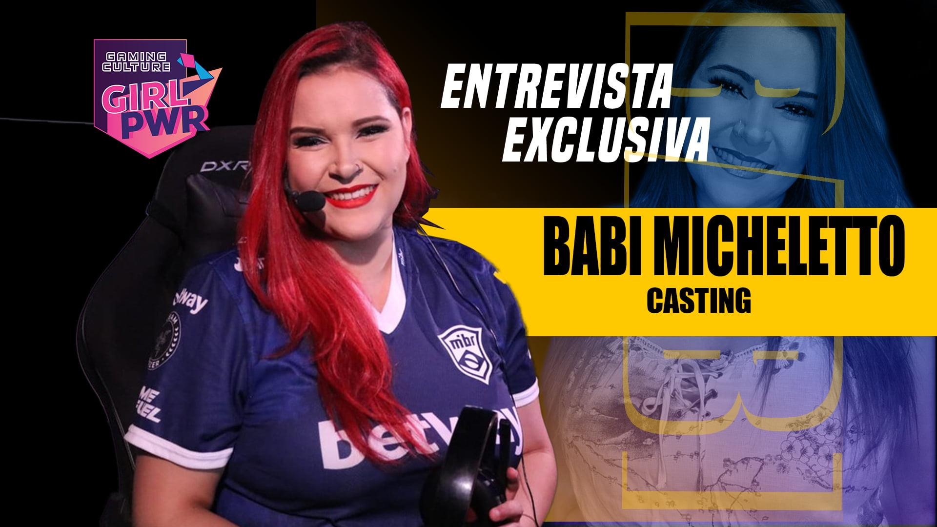 entrevista com babi micheletto sobre girl pwr valorant