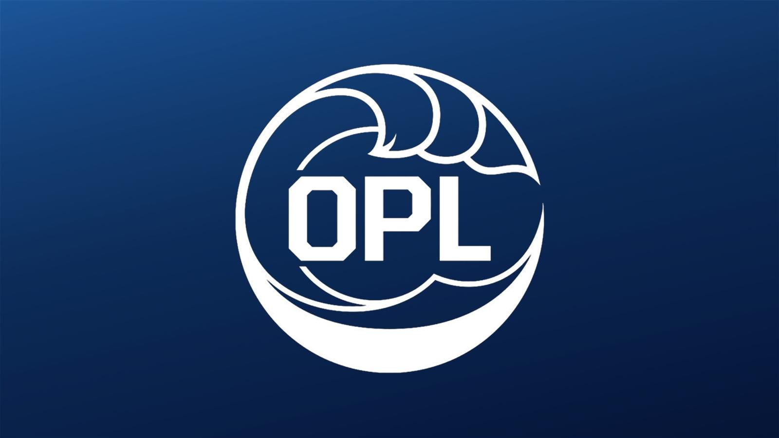 Logo da OPL, liga de League of Legends da Oceania