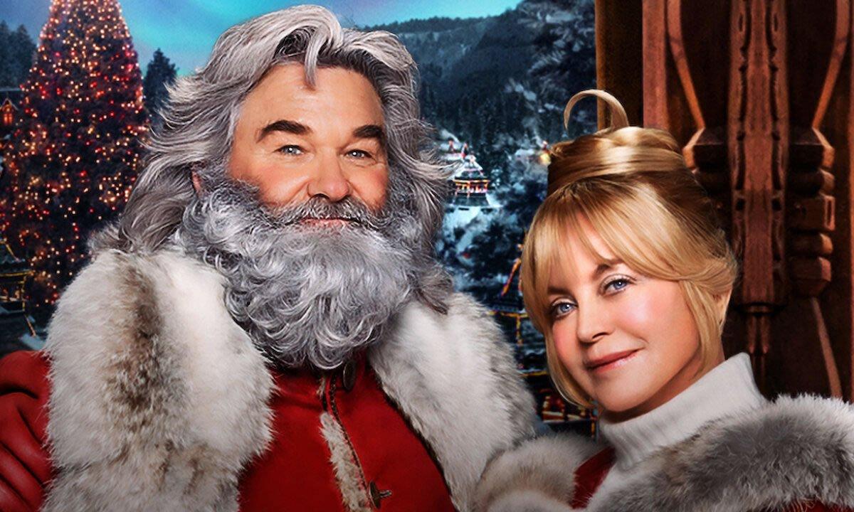 Kurt Russell e Goldie Hawn como Sr. e Sra. Noel em continuação de Crônicas de Natal