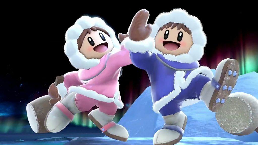 Imagem mostrando Popo e Nana no Super Smash Bros