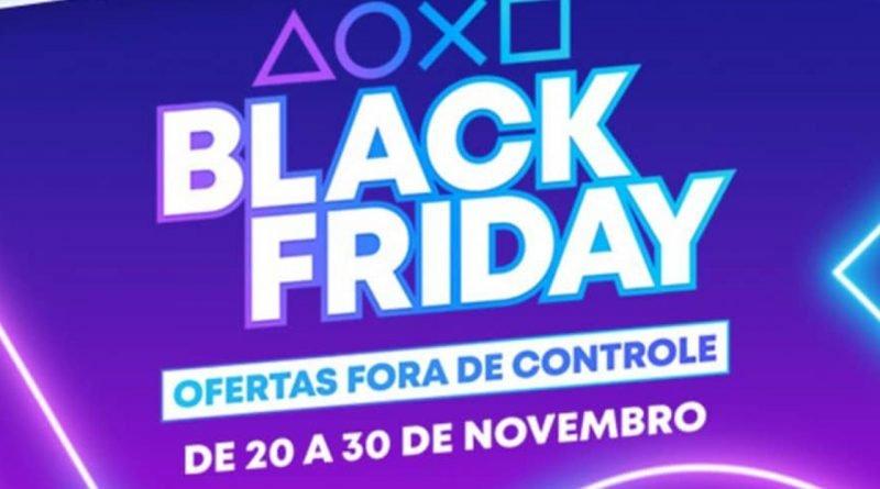 Imagem de anúncio da Black Friday da Sony
