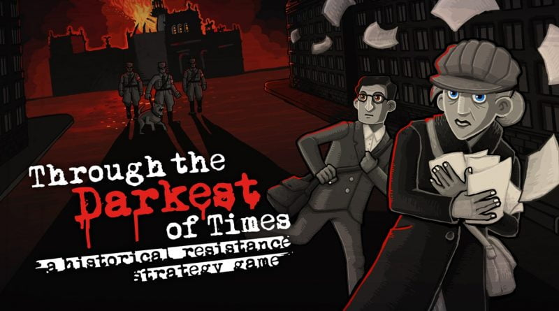 Imagem de divulgação de Throught the Darkest of Times na Steam