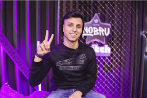 Foto de Nobru, ganhador no Brasil Game Awards