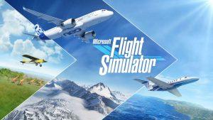 Capa de Microsoft Flight Simulator