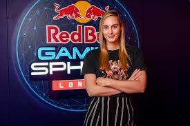 Foto de Sjokz, ganhadora do Game Awards