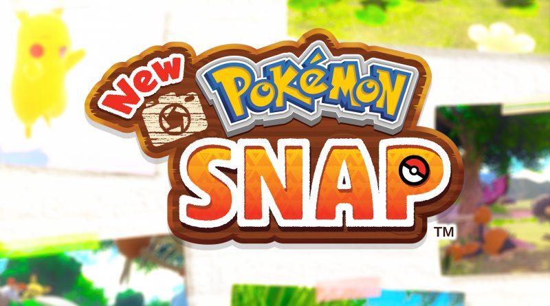 Imagem mostrando o título do game e algumas fotos de fundo de Pokémon