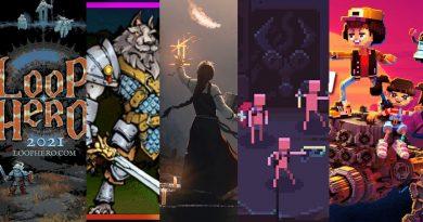 Capa dos 5 games listados no texto e que tiveram demos lançadas no Steam Game Festival