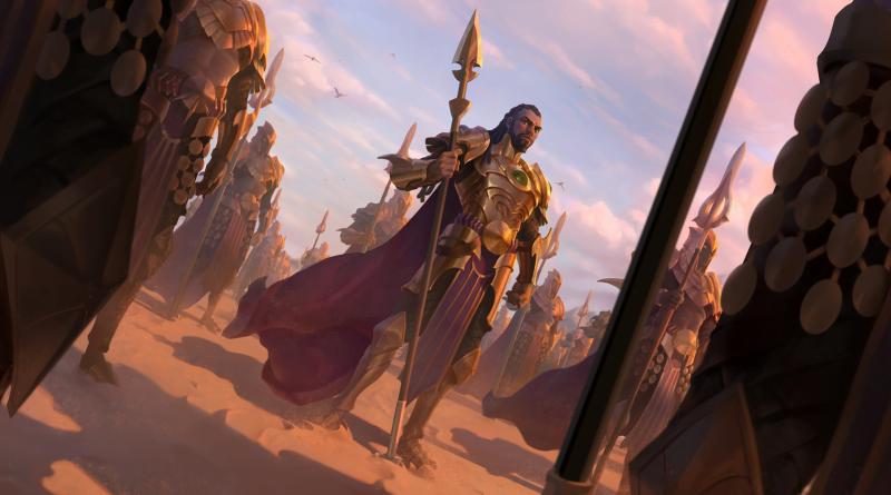 Shurima chega em Legends of Runeterra no dia 3 de março