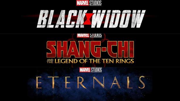 Marvel Lançamentos 2021 até 2023 nos cinemas