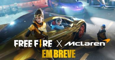 Free Fire e McLaren Racing