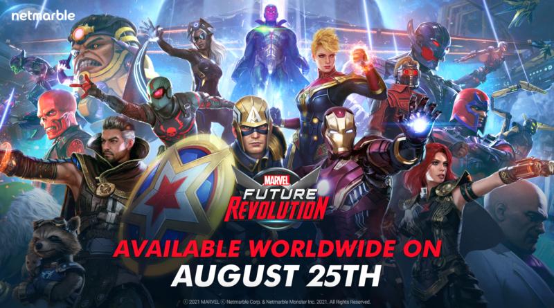 MARVEL Future Revolution chega em 25 de agosto