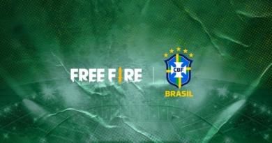 Parceria entre Free Fire e CBF